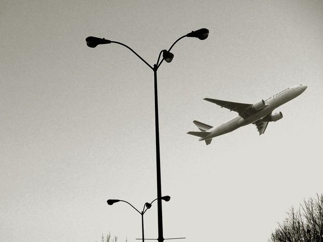odlet letadla