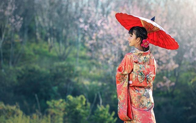 gejša v japonsku