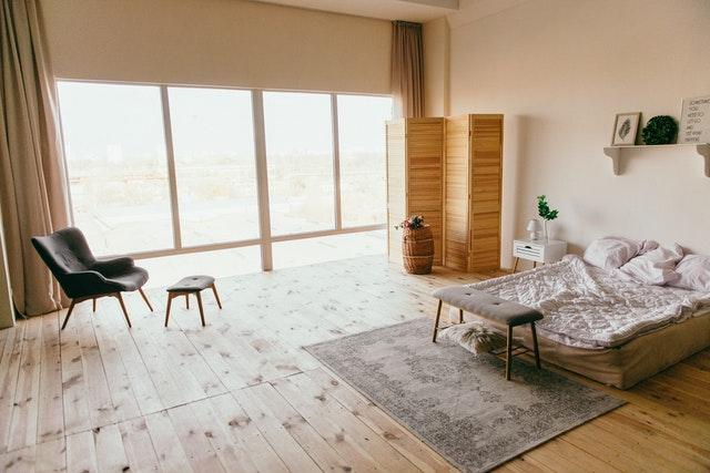 jednoduchý interiér