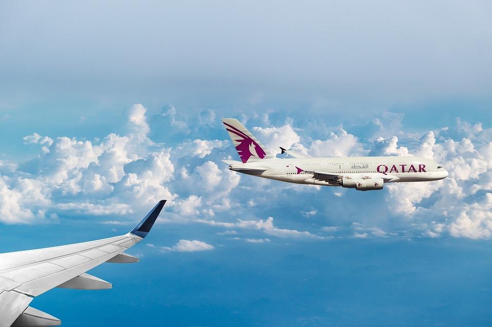 katarské letadlo